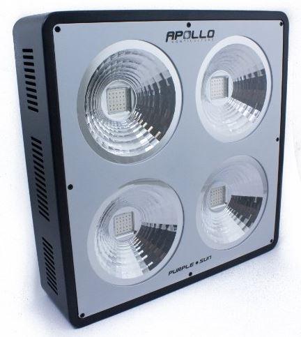 Apollo Horticulture Purple Sun COB Full Spectrum 300W LED Grow Light