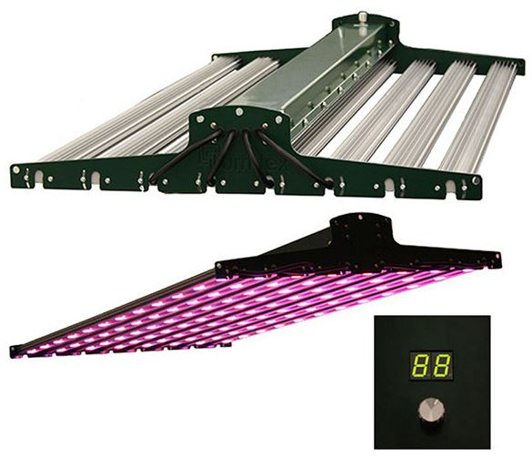 illumitex neosol ds 520w led grow light review. Black Bedroom Furniture Sets. Home Design Ideas