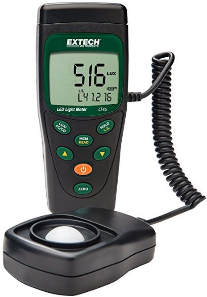 Extech LT45 LED Light Meter